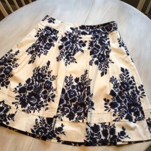 Talbots Petite cotton skirt